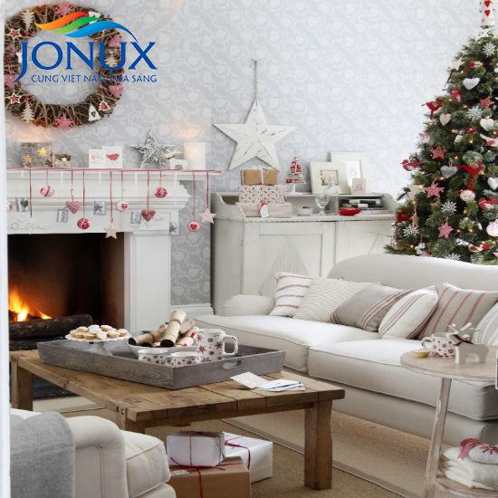 Trang trí tổ ấm lộng lẫy đón Giáng sinh về