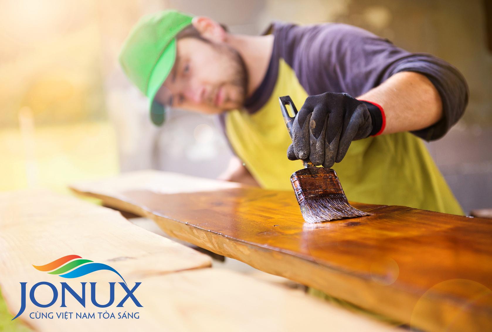sơn công nghiệp cho gỗ
